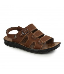 Cefiro Red Brown Sandal for Men - CSD0015